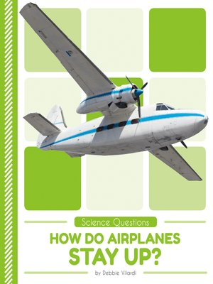 cover image of How Do Airplanes Stay Up?