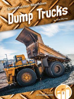 cover image of Dump Trucks