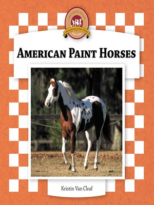 cover image of American Paint Horses