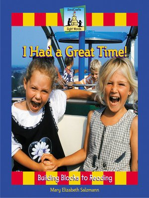 cover image of I Had a Great Time!