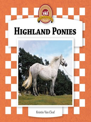 cover image of Highland Ponies