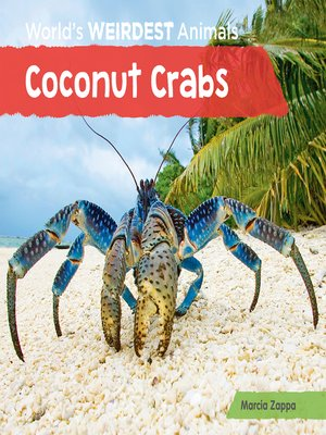 cover image of Coconut Crabs