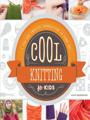 cover image of Cool Knitting for Kids