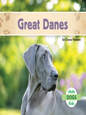 cover image of Great Danes
