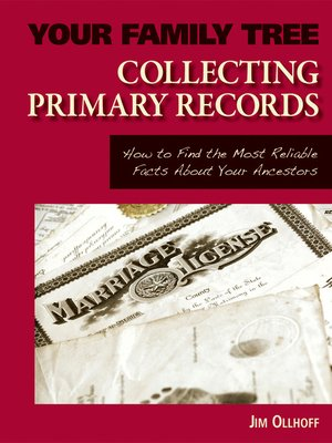 cover image of Collecting Primary Records
