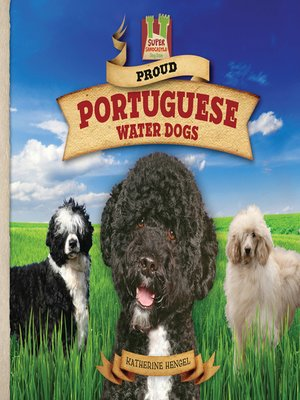 cover image of Proud Portuguese Water Dogs