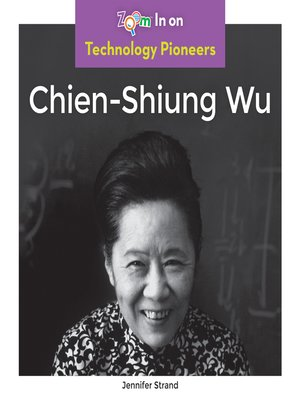cover image of Chien-Shiung Wu