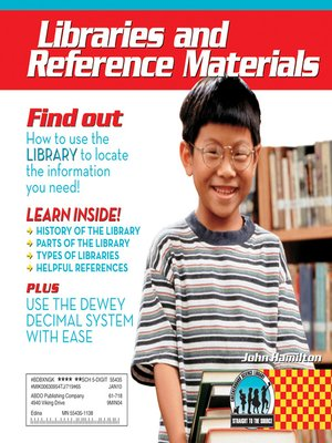 cover image of Libraries and Reference Materials