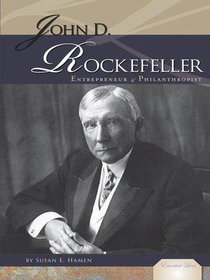 cover image of John D. Rockefeller