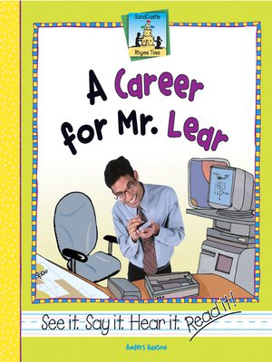 cover image of Career for Mr. Lear