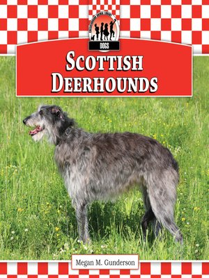 cover image of Scottish Deerhounds
