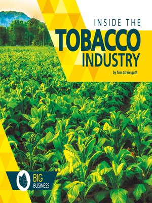 cover image of Inside the Tobacco Industry