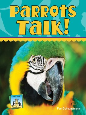 cover image of Parrots Talk!