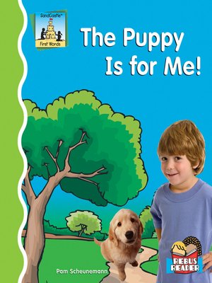 cover image of Puppy Is for Me!