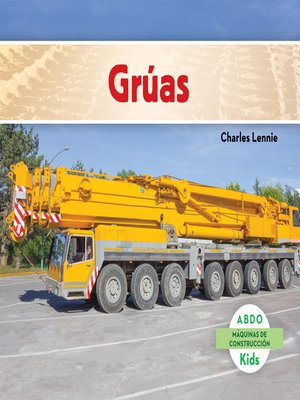 cover image of Grúas