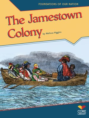 cover image of The Jamestown Colony