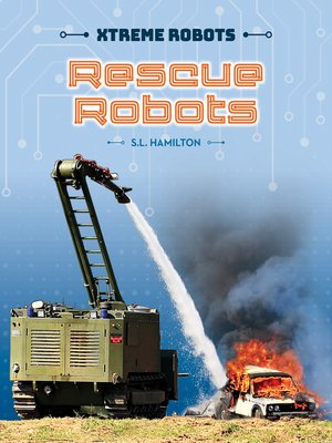 cover image of Rescue Robots