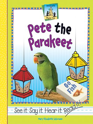 cover image of Pete the Parakeet