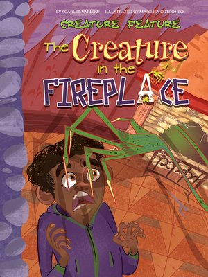 cover image of The Creature in the Fireplace