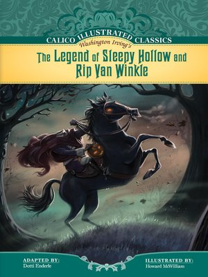 cover image of Legend of Sleepy Hollow and Rip Van Winkle