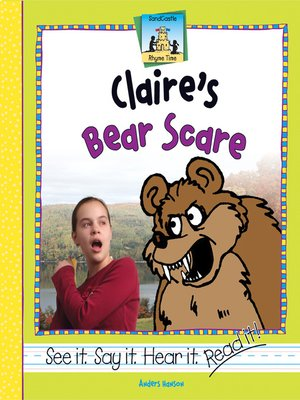 cover image of Claire's Bear Scare
