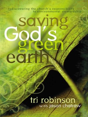 cover image of Saving God's Green Earth
