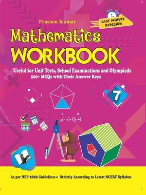 cover image of Mathematics Workbook Class 7