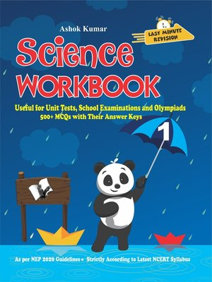 cover image of Science Workbook Class 1