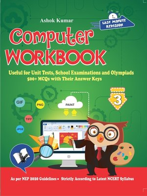 cover image of Computer Workbook Class 3