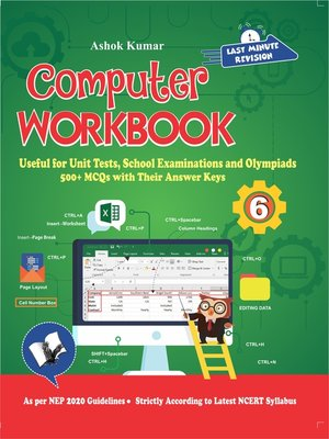 cover image of Computer Workbook Class 6