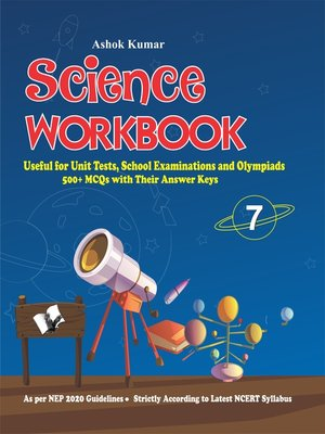 cover image of Science Workbook Class 7
