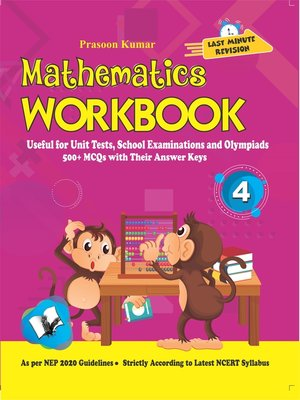 cover image of Mathematics Workbook Class 4