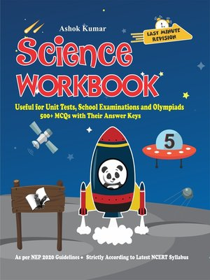 cover image of Science Workbook Class 5