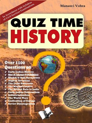 cover image of Quiz Time History