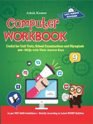 cover image of Computer Workbook Class 9