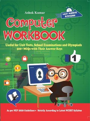 cover image of Computer Workbook Class 1