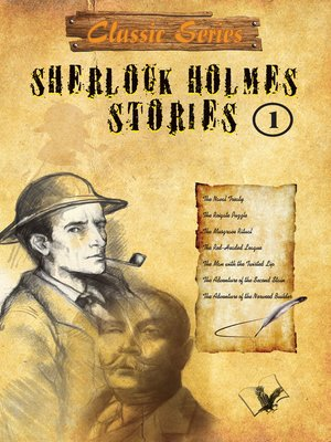 cover image of Sherlock Holmes Stories 1