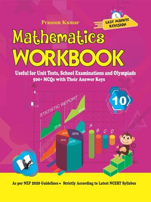 cover image of Mathematics Workbook Class 10