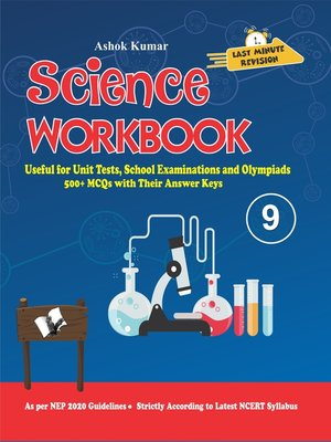 cover image of Science Workbook Class 9