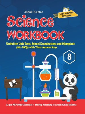 cover image of Science Workbook Class 8