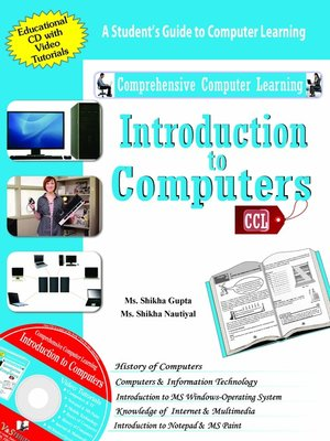 cover image of Introduction to Computers