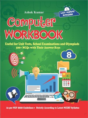 cover image of Computer Workbook Class 8