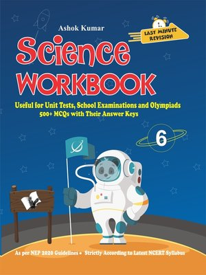cover image of Science Workbook Class 6