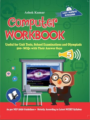 cover image of Computer Workbook Class 5