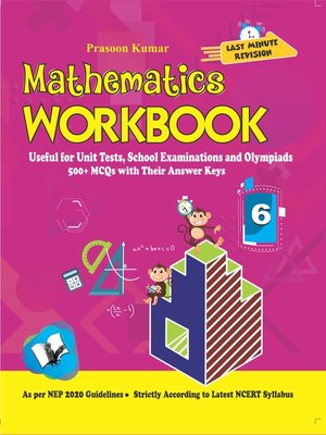 cover image of Mathematics Workbook Class 6