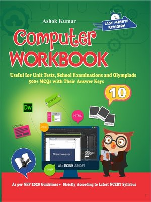 cover image of Computer Workbook Class 10