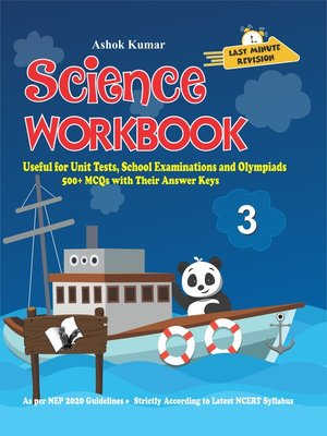 cover image of Science Workbook Class 3