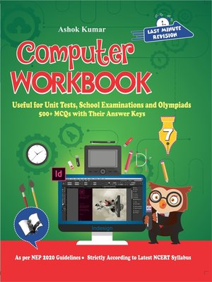 cover image of Computer Workbook Class 7