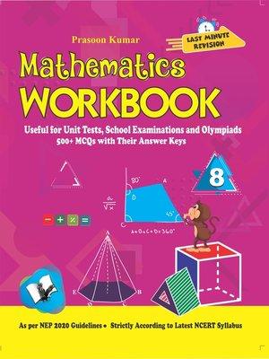 cover image of Mathematics Workbook Class 8