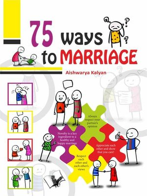 cover image of 75 Ways to Happy Marriage